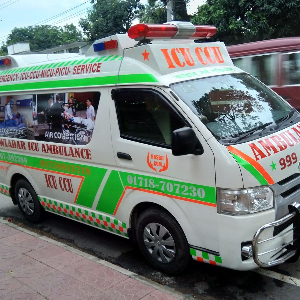 ICU-ambulance-service